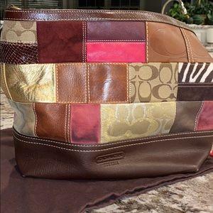 Stunning Coach Patchwork Shoulder Bag
